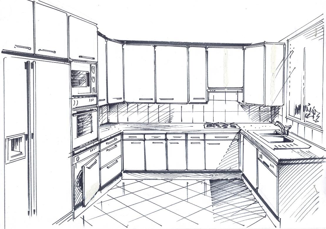 dessins plans de nos r alisations sadeco le sp cialiste en cuisines et salles de bain haut. Black Bedroom Furniture Sets. Home Design Ideas